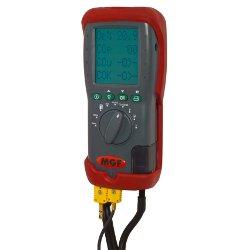 Analizzatore di combustione, test tiraggio, prova tenuta gas e delta p