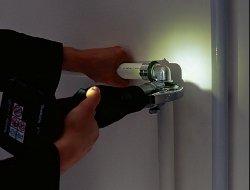 Crimpatrice klauke luce integrata