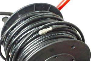 Idropulitrice sturatubi con tubo flessibile da 40m