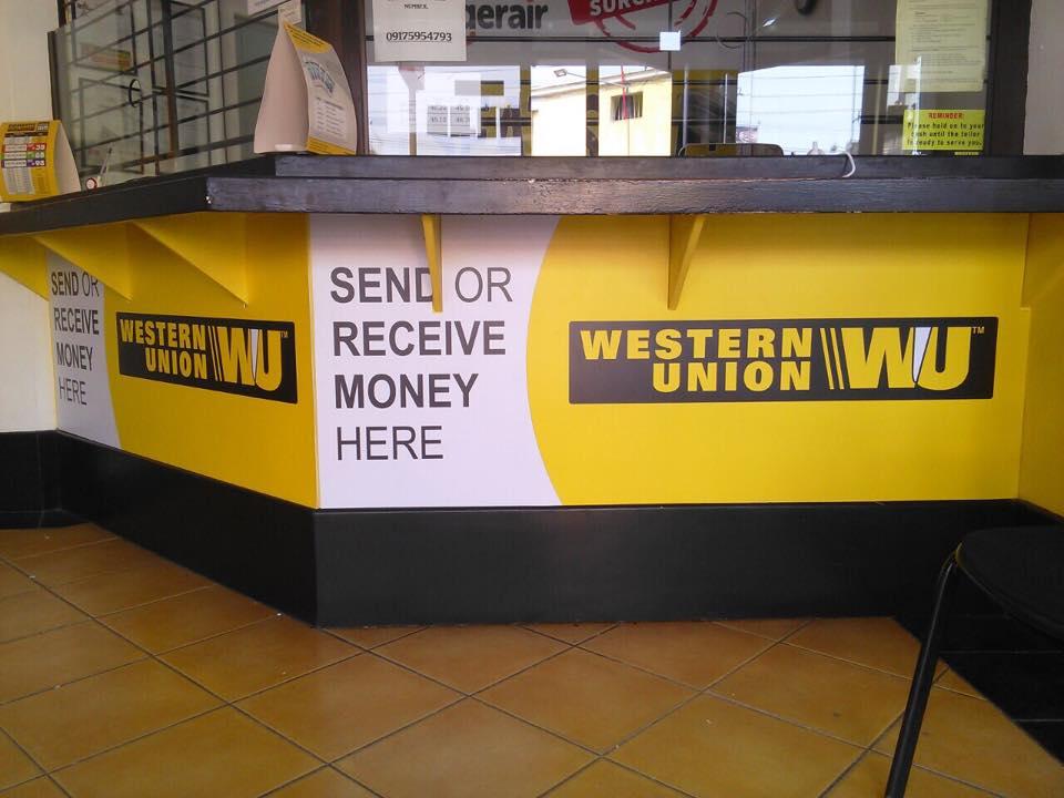 Western Union Panaflex Signage Maker | sign maker | acrylic
