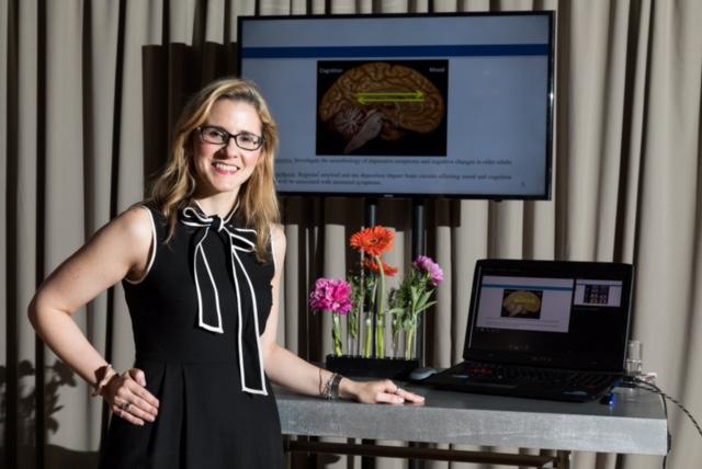 Jennifer Gatchel studying Alzheimer's disease