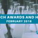 February 2018 awards honors
