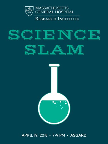 SCIENCE SLAM poster