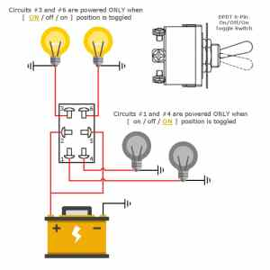 6 Pin Toggle Switch — DPDT OnOffOn | MGI SpeedWare