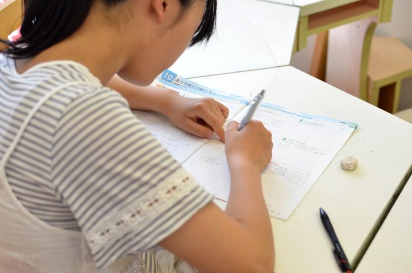 夏期講習 中学生 課題サポート