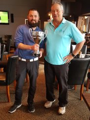 2018 Masters Winners Mike Doran and Ron Dunsire