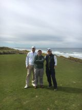 Lineker and foursome on Bandon Dunes