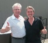 Progressive Tee Tournament Winners Steve Rice-Jones and Kim Fordyce