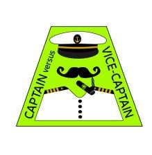 Captain vs. Vice Captain Logo