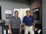 Tournament Organizers Gord Lee and Mas Watanabe