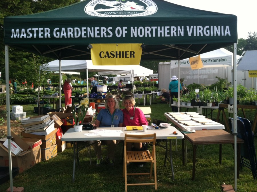 2015 Green Spring Plant Sale Plant Sale Coordinators Alice Kindler and Grace Dailey