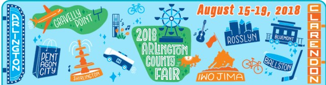 2018 Arlington County Fair Logo
