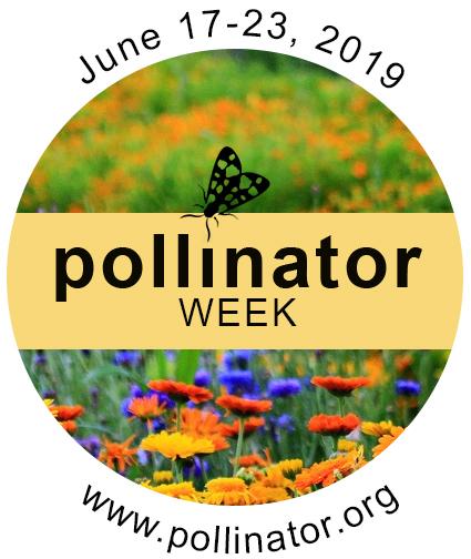 2019 National Pollinator Week Logo