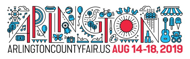 Arlington county fair 2019 logo