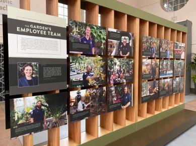 The Garden's employee team