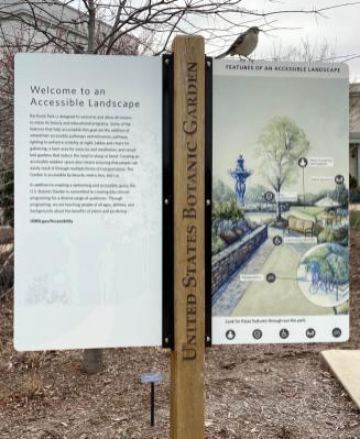 Renovated Bartholdi Garden