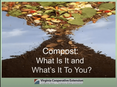 Learn how to make your own compost.]