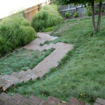 No-mow fescue lawn on hard-to-mow slopes. Photo © SG Garden Design, Flickr