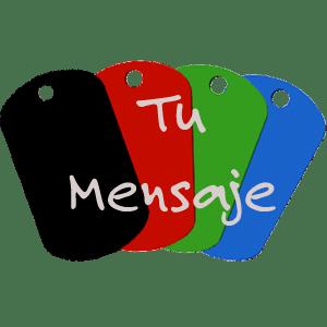 Placa con Mensaje