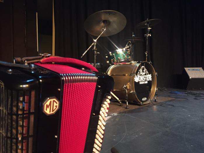 Accordion with Monster Ceilidh Band