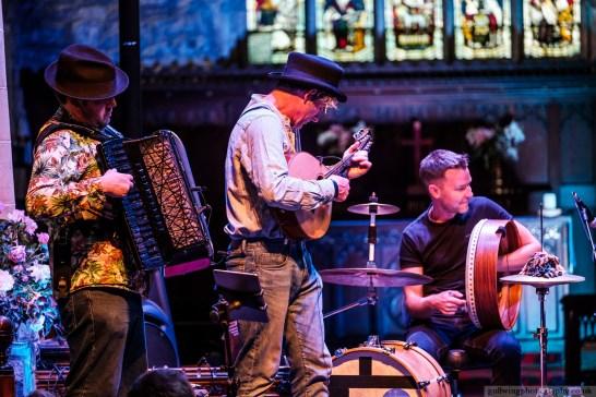 Murray Grainger Accordionist with Dodo Street Band