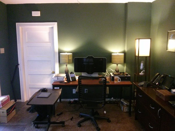 HDX-4500 on desk