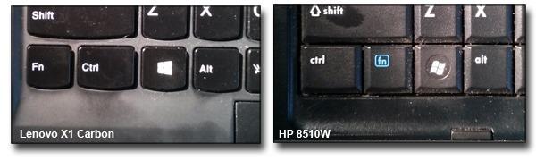Lenovo-vs-HP-Key-Layouts