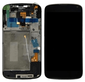 Nexus 4 Replacement Display-Digitizer-Frame