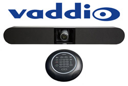 Vaddio Logo & Huddlestation