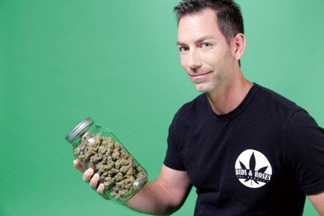 Aaron Justis, Buds and Roses, cannabis, entrepreneur, 2017