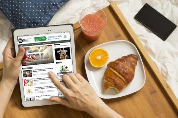 Entrepreneurs, breakfast
