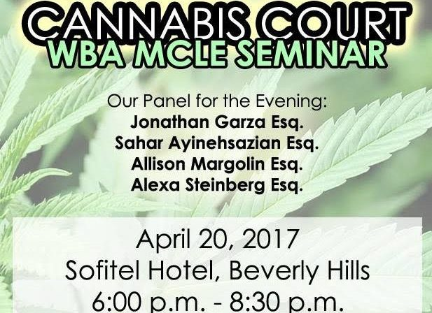 Cannabis Court, westside bar association, marijuana, news