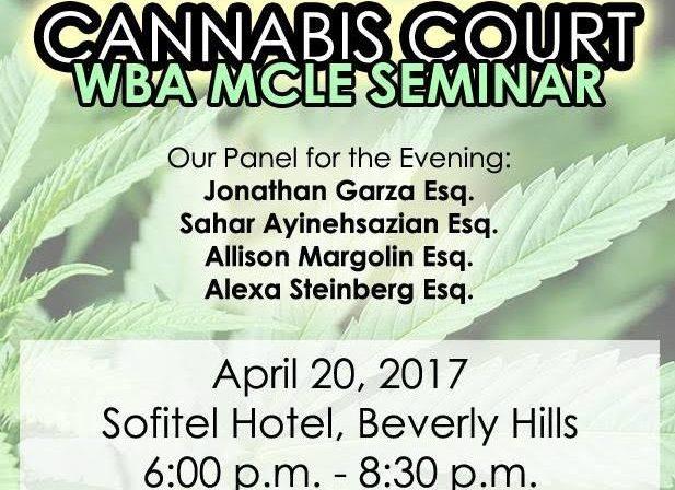 Cannabis Court, westside bar association, marijuana, news