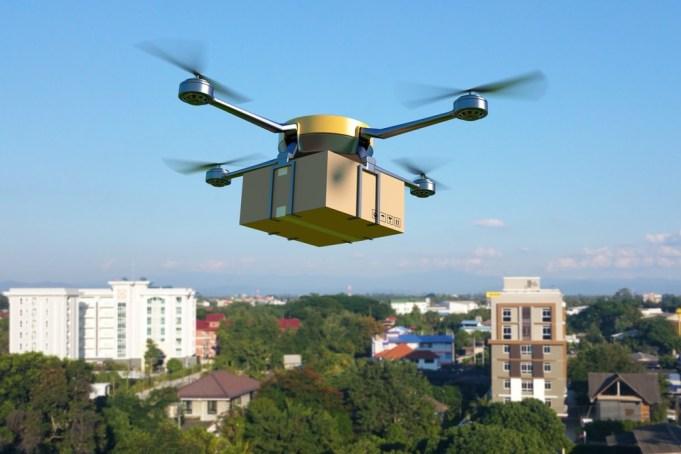 California Drones Marijuana Delivery