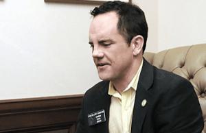 Georgia State Democratic Senator Curt Thompson