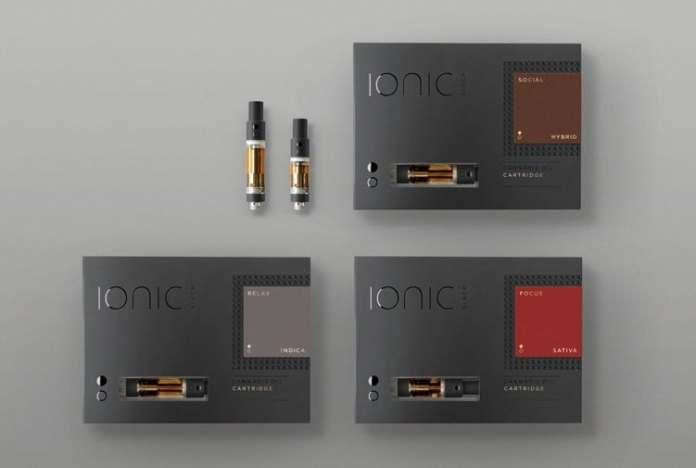 Ionic cannabis oil vape cartridges