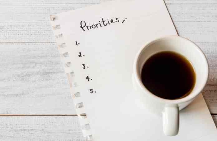 priorities-executive-tips-mg magazine-mgretailer