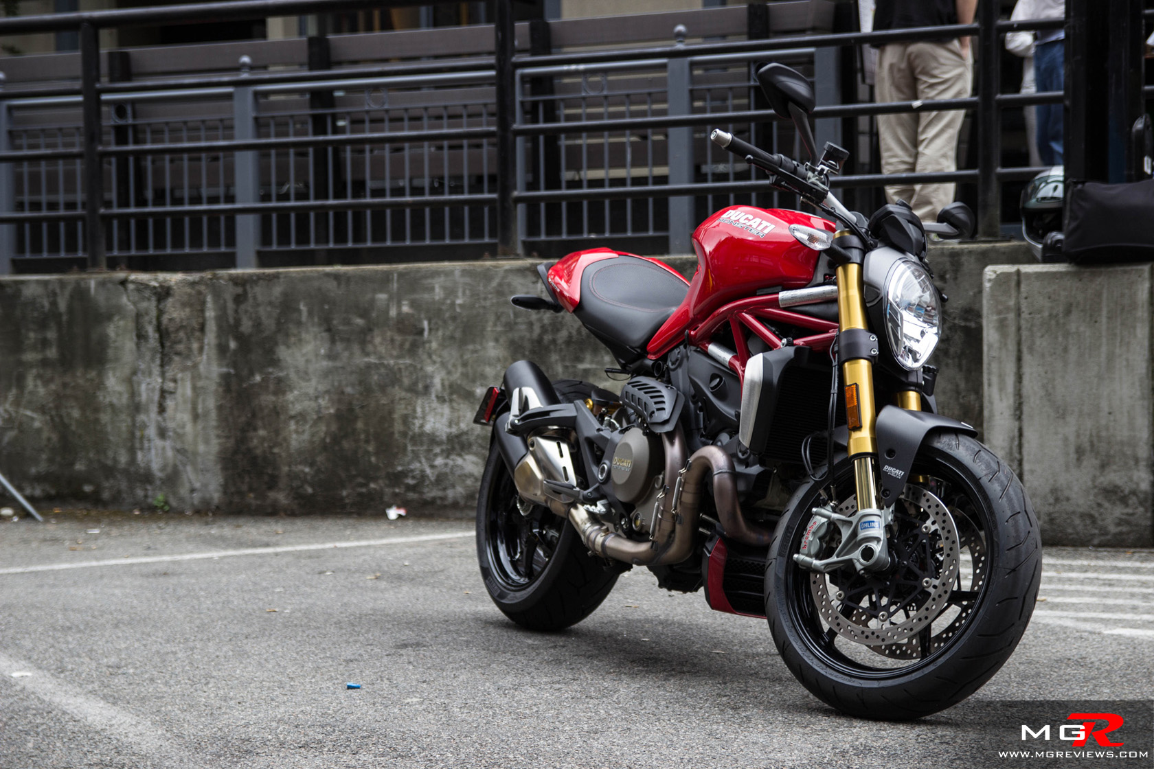 New Ducati Monster with a liquid cooled 150hp motor