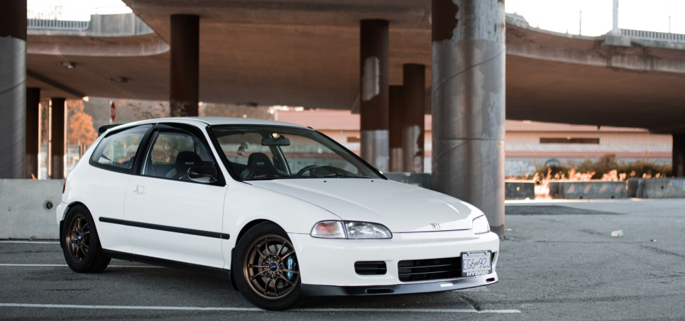 1993 Honda Civic Modified