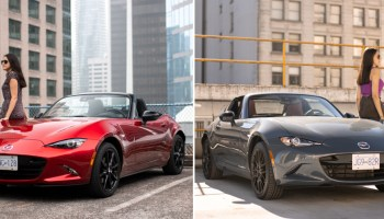 Comparison: 2020 Mazda MX-5 GS vs MX5 RF