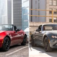 Comparison: 2020 Mazda MX-5 GS vs MX5 RF
