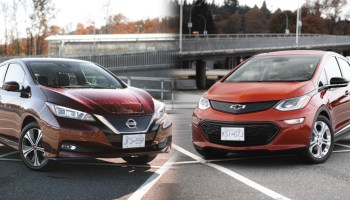 2020 Nissan Leaf Plus vs 2020 Chevrolet Bolt EV