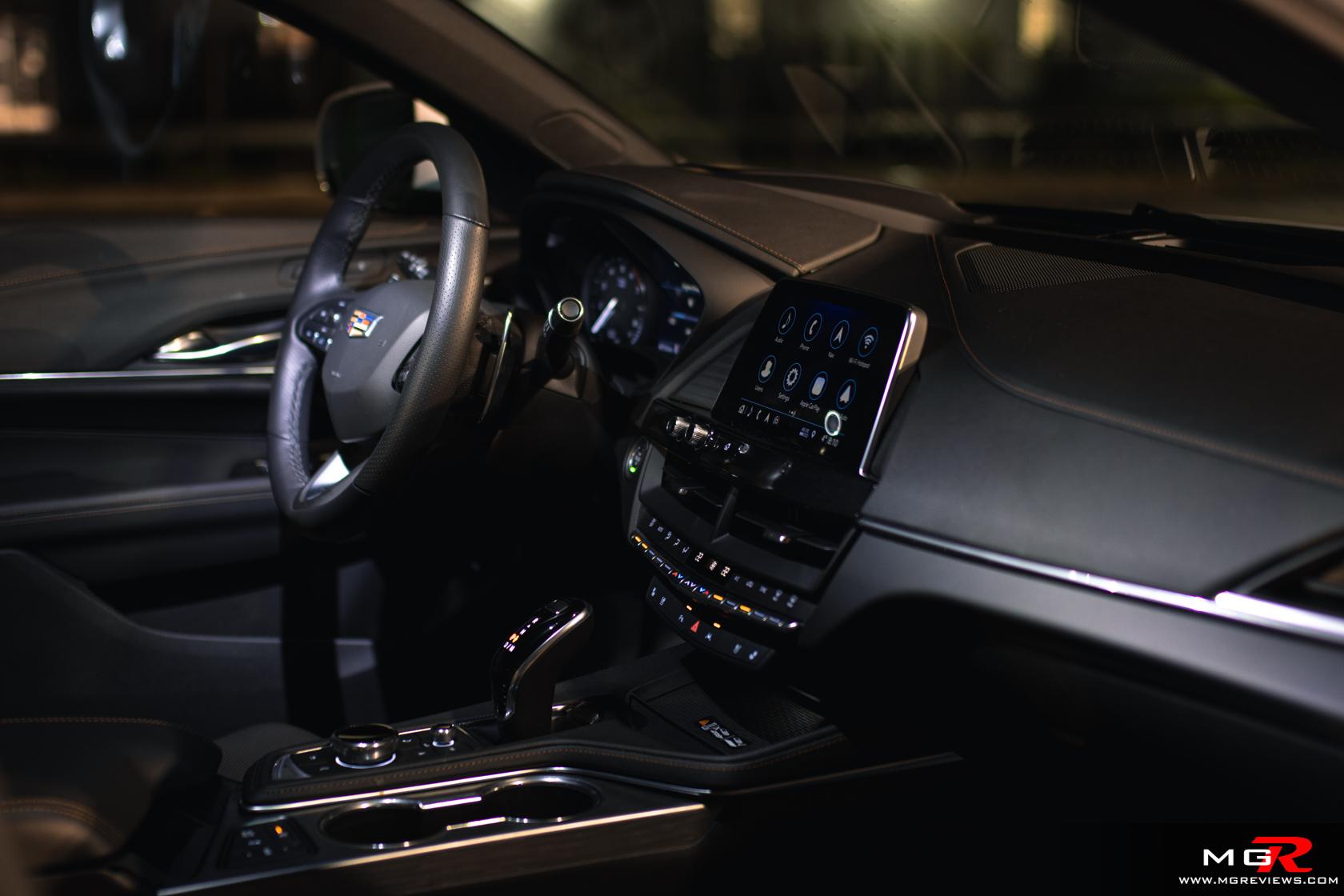 2020 Cadillac CT4-V Interior