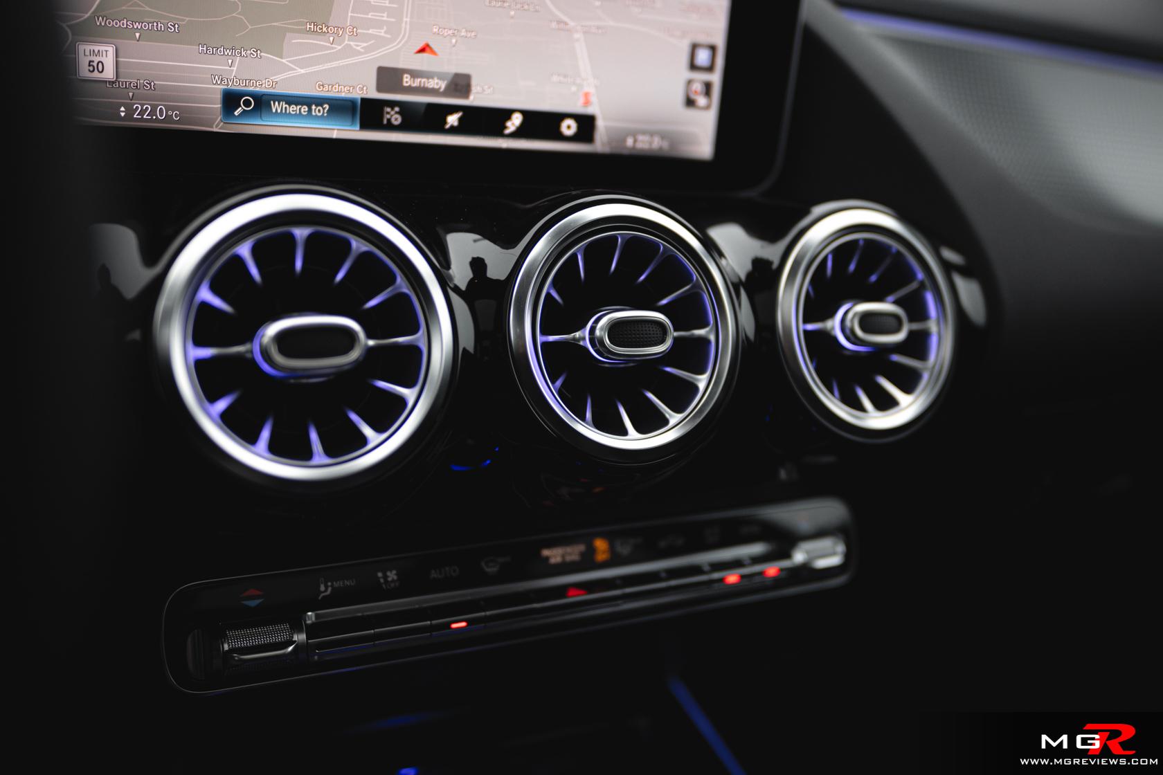 2021 Mercedes-Benz GLA 250 Interior
