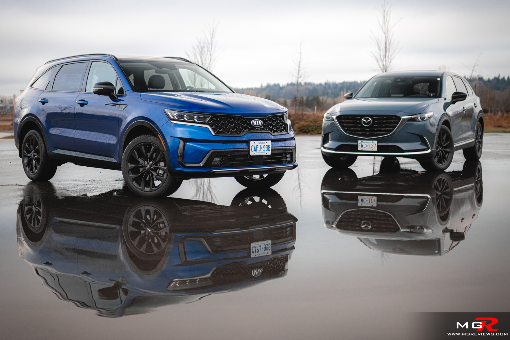 2021 Kia Sorento vs 2021 Mazda CX-9