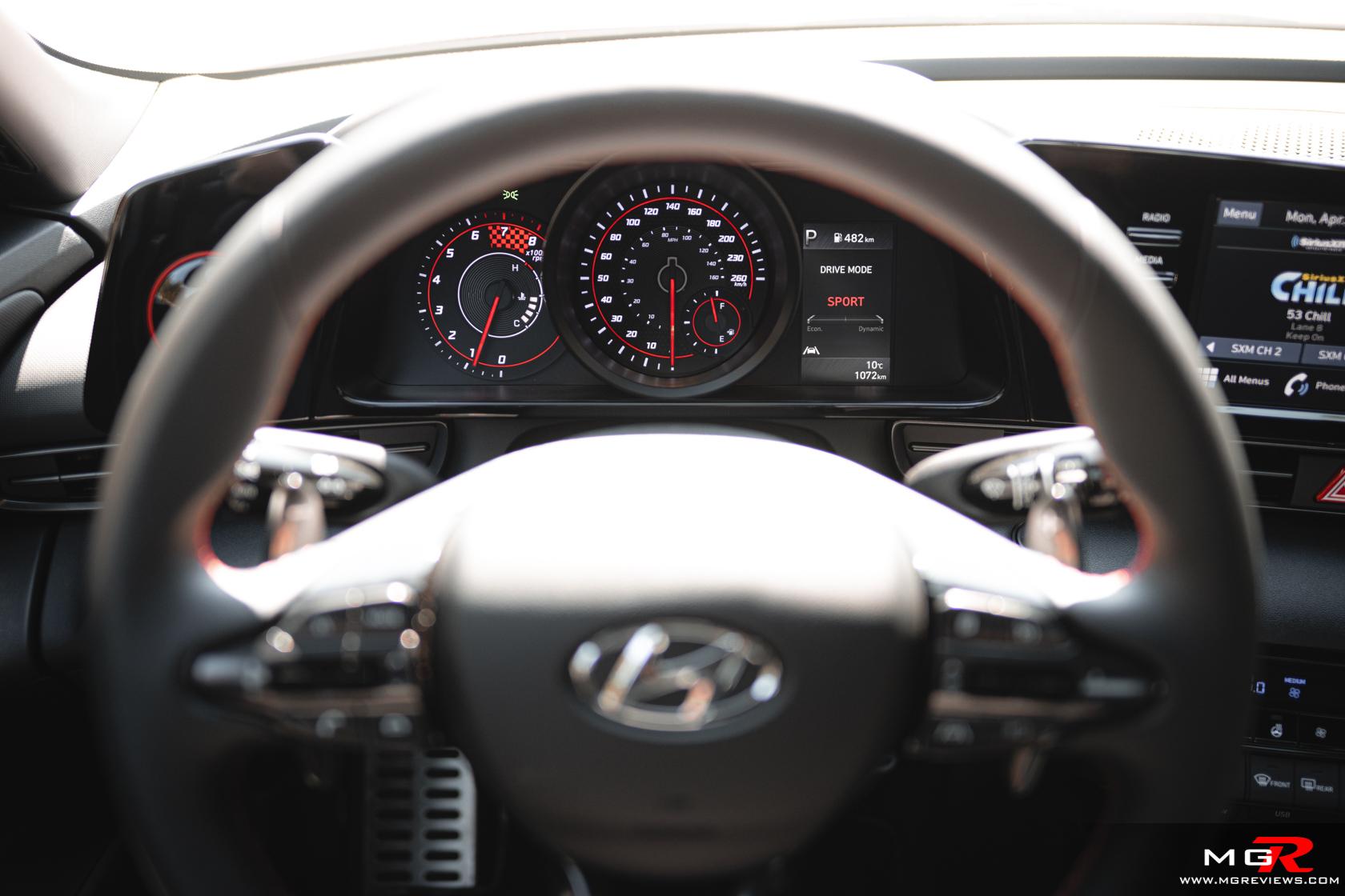 2021 Hyundai Elantra N-Line Interior