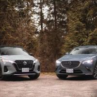 2021 Nissan Kicks vs 2021 Mazda CX-3