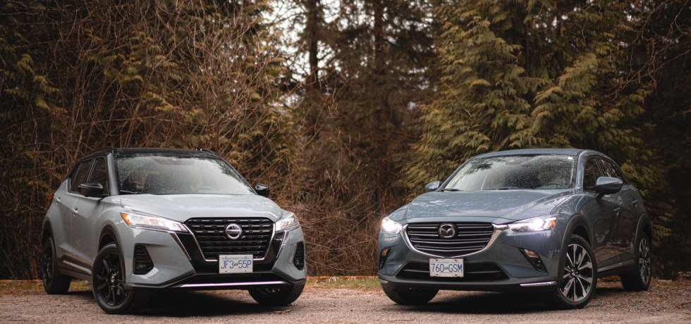 2021 Nissan Kicks vs 2021 Mazda CX-3