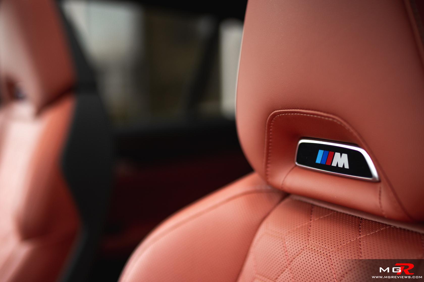 2021 BMW X4M Competition Interior