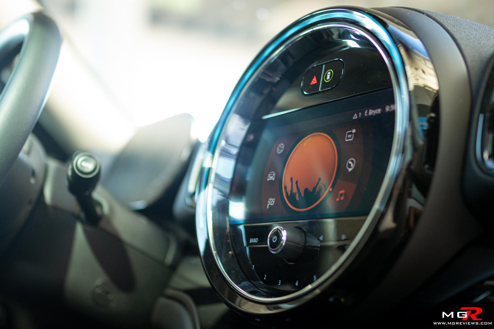 2021 Mini Cooper S Countryman All4 Interior